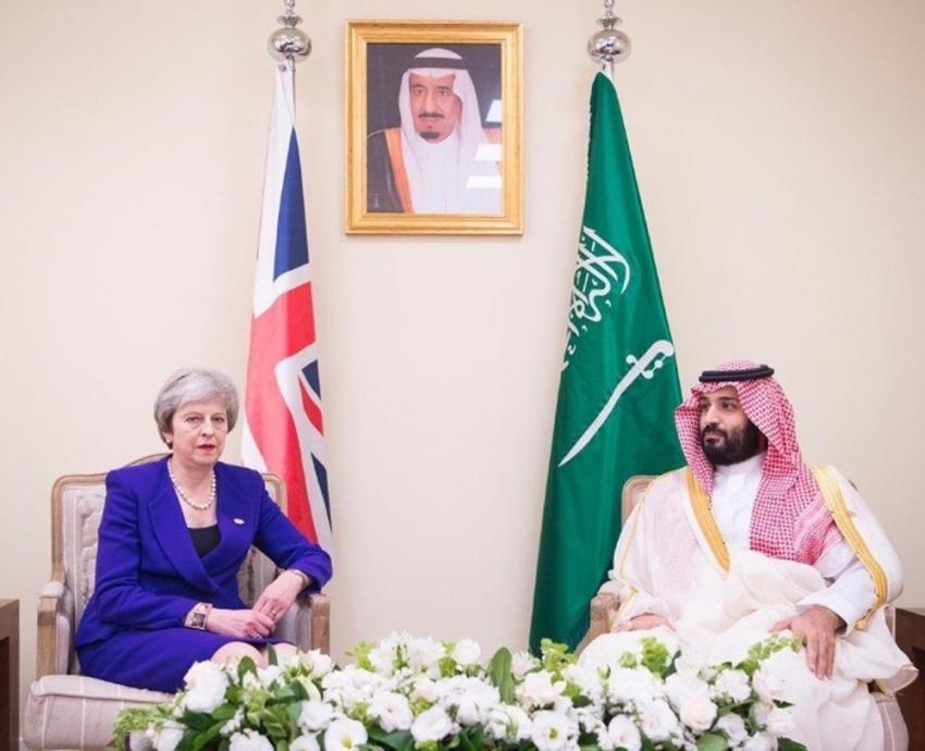 Suudi Veliaht Prensi, İngiltere Başbakanı May ile görüştü