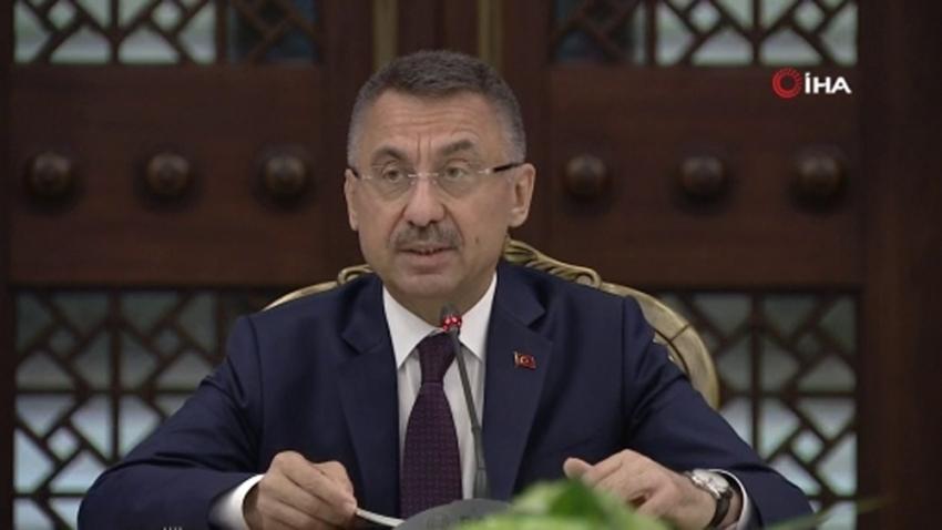 """Cumhurbaşkanı Yardımcısı Oktay: """"Türkiye'nin güçlü olması Kıbrıs'ın güçlü olması demek"""""""