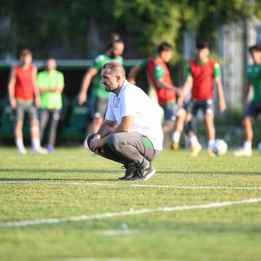 Mustafa Er ilk antrenmanına çıktı