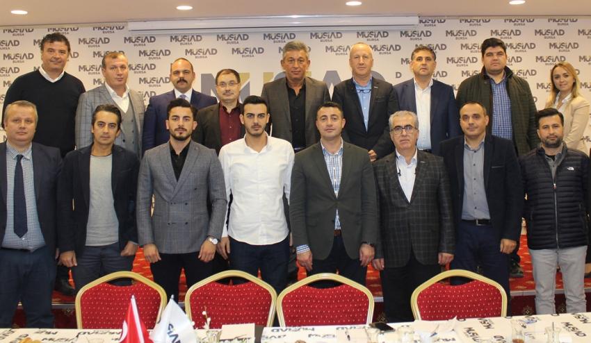 MÜSİAD Bursa ve İzmirli lojistikçiler, sektörü tartıştı