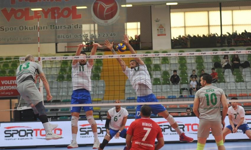 Bursa Büyükşehir Belediyespor 3-0 Düzce Belediyespor
