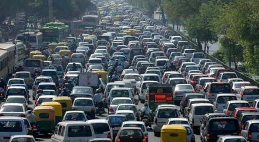 Trafikte büyük tehlike