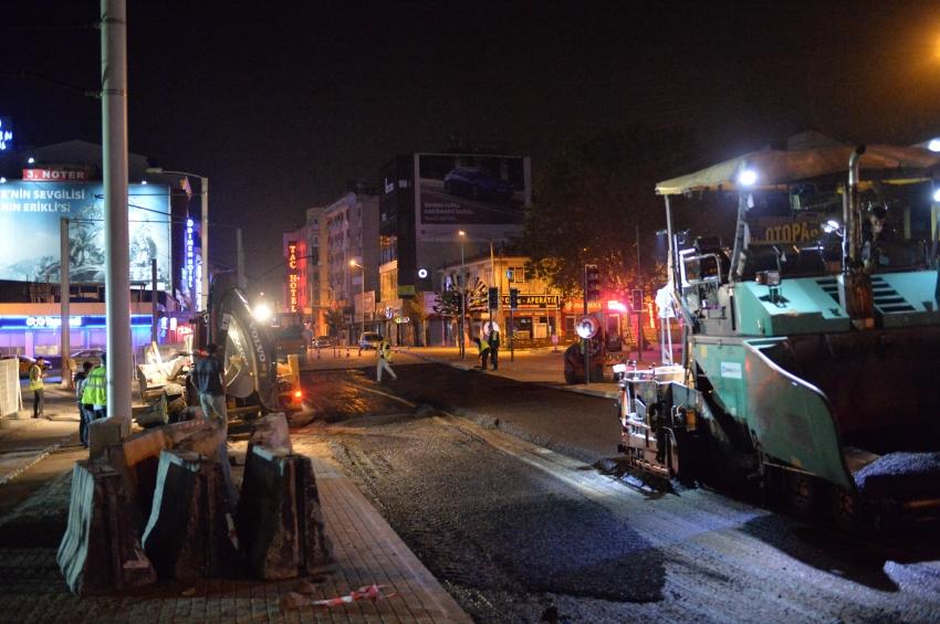 Bursa Büyükşehir çalışmalarına kesintisiz devam ediyor