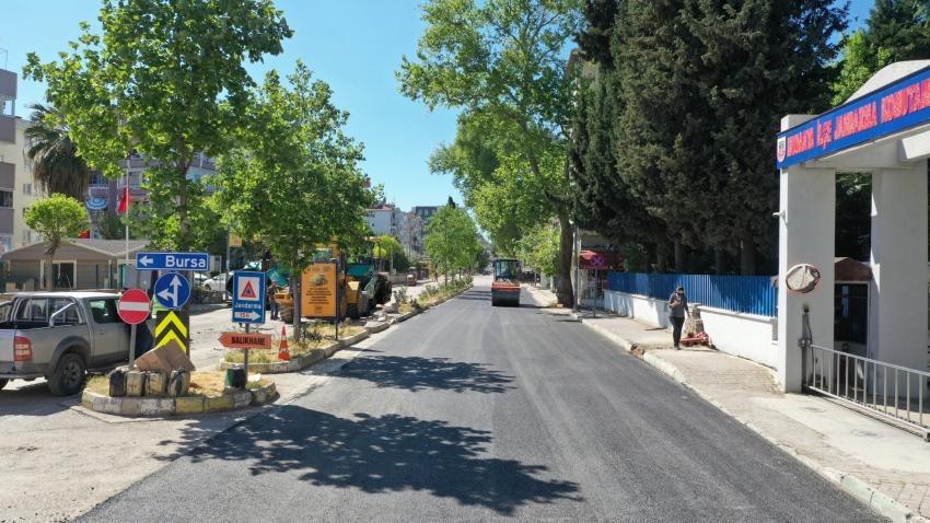Bursa Büyükşehir'in çalışmaları kesintisiz devam ediyor