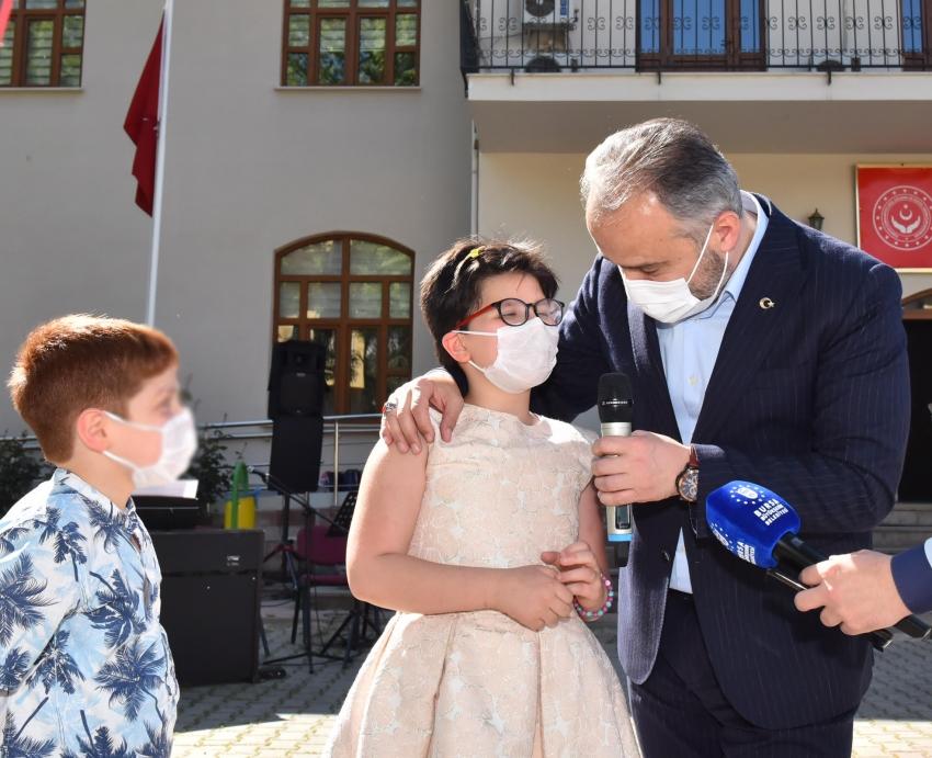 Bursa'da çocuklarla bayram daha güzel
