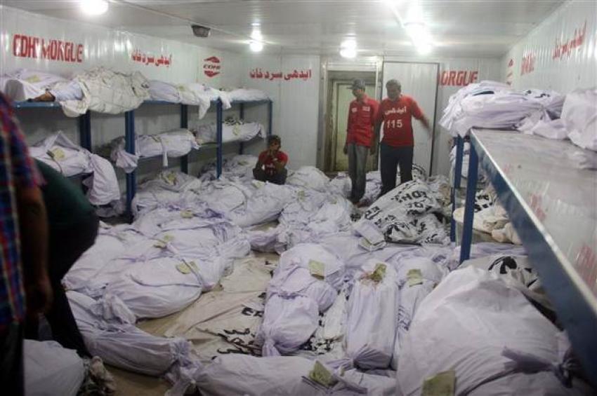 Pakistan kavruluyor: Ölü sayısı 572'ye yükseldi