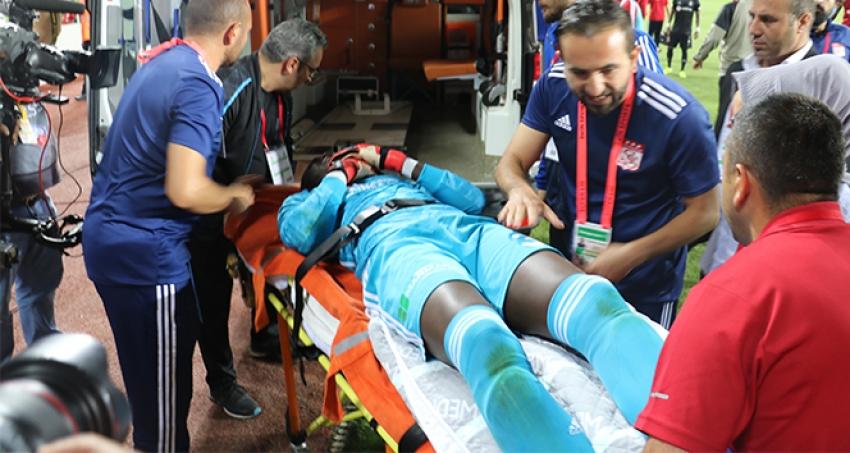 Samassa hastaneye kaldırıldı