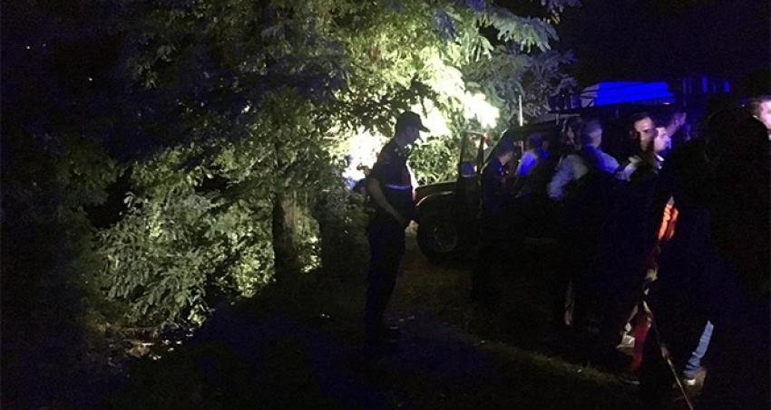Baraja uçan otomobildeki kayıp 4 kişinin cesedi bulundu
