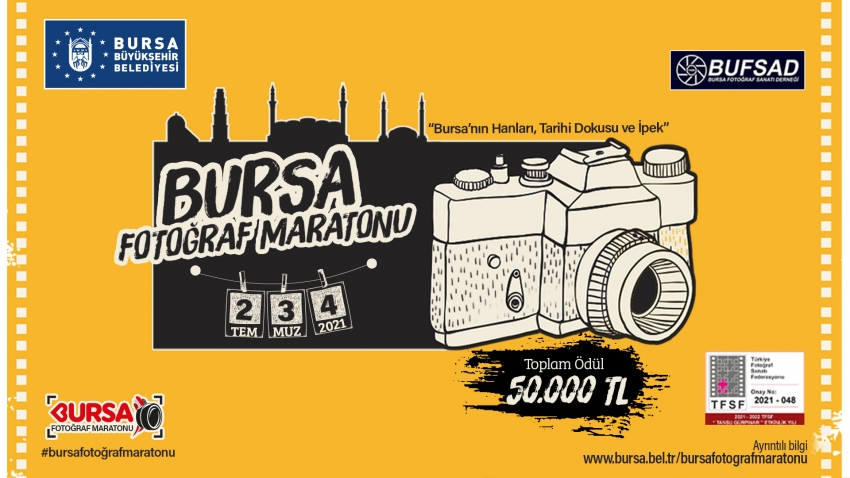 Bursa'da fotoğraf tutkunları maratonda buluşuyor