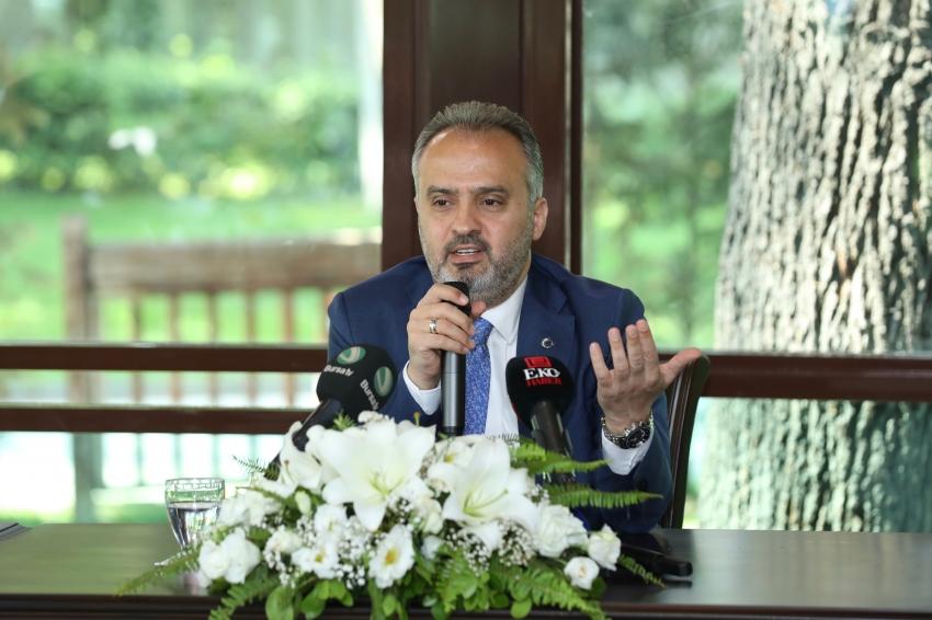 """""""Bursa'da emlakçılık değil, kentsel dönüşüm yapacağız"""""""