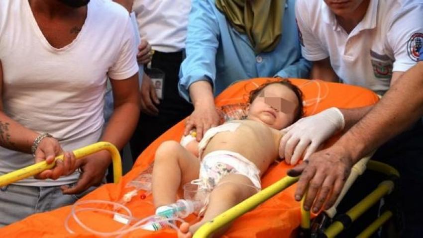 Sarıyer'de silahlı saldırıda bebek yaralandı