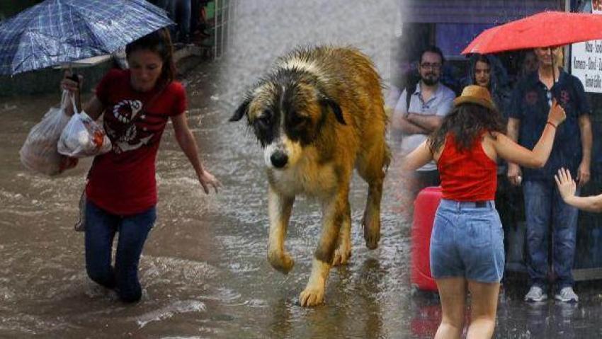 Yaz yağmuru Türkiye'yi felç etti
