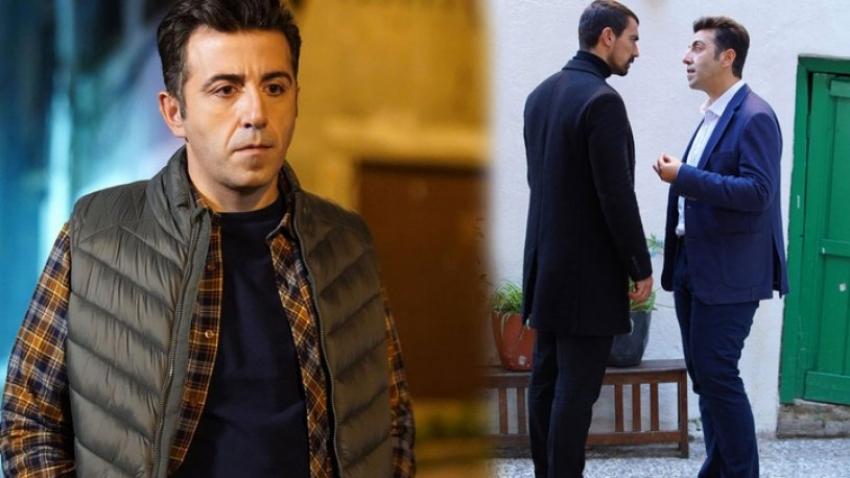 Oyuncu Fatih Koyunoğlu, genç kadını apartman boşluğuna çekip...