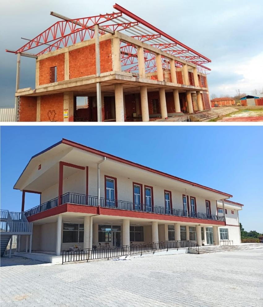 Bursa'nın kırsal bölgelerine yatırımlar devam ediyor