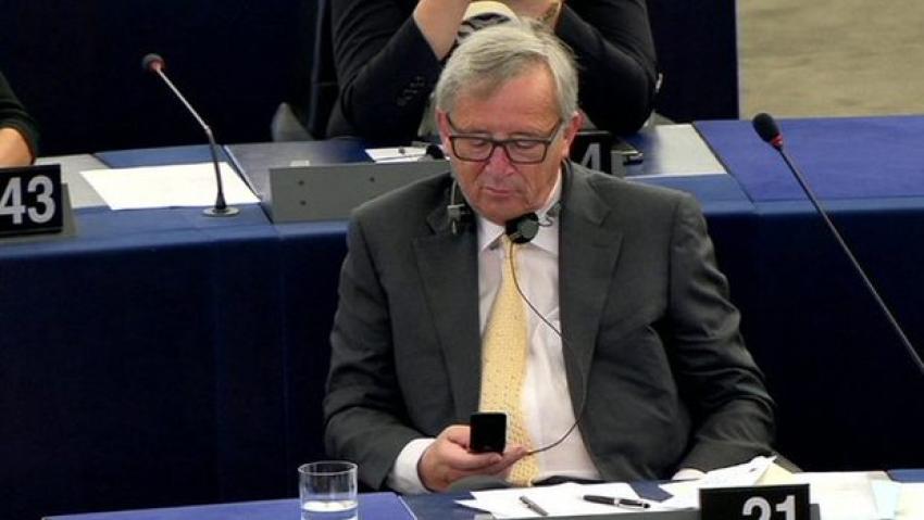 """Juncker sert çıktı! """"Gevezeliği bırakın"""""""