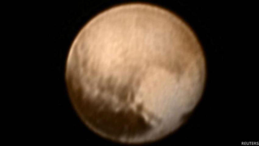 Plüton 8 milyon kilometreden nasıl görünüyor?