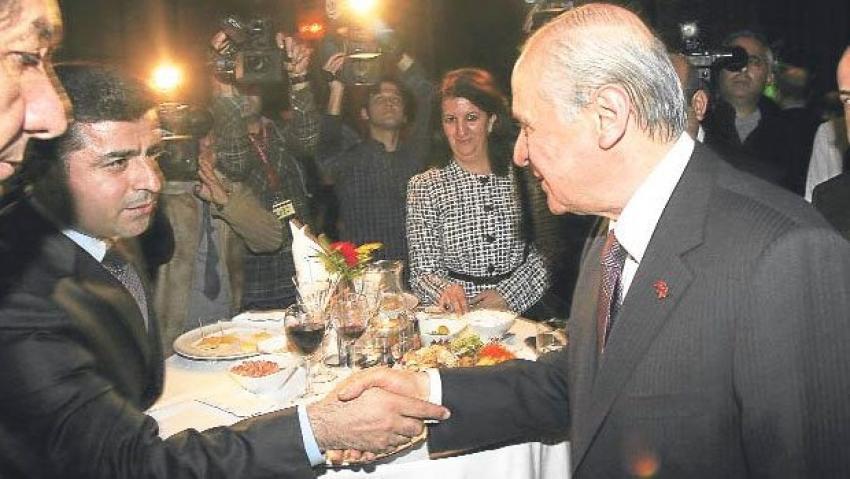 MHP-HDP  birlikte çalışacak