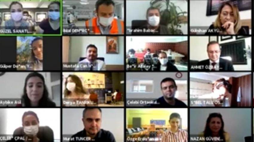 Bakan Selçuk Kırıkkale'de meslektaşlarıyla buluştu