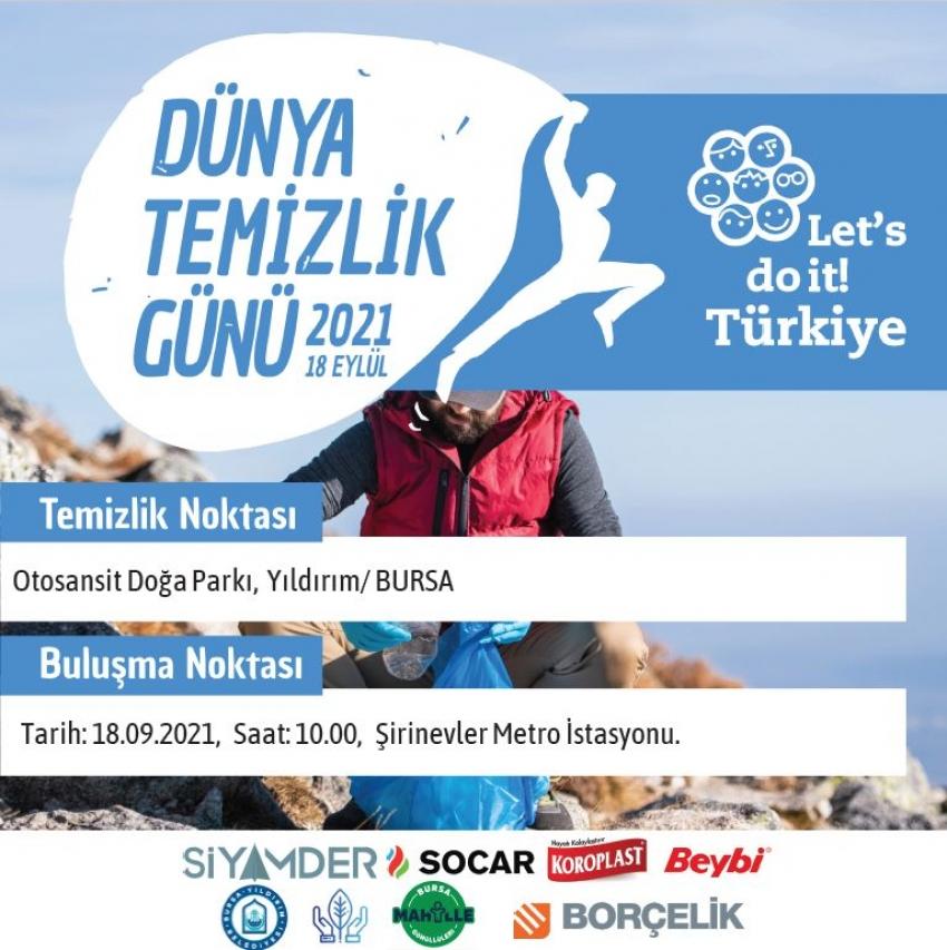 Bursa'da daha temiz bir çevre için harekete geç