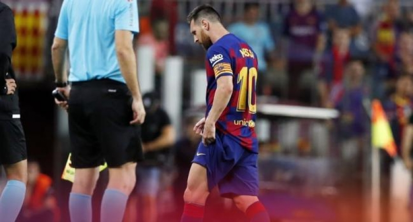 Messi'nin sakatlık kabusu sürüyor
