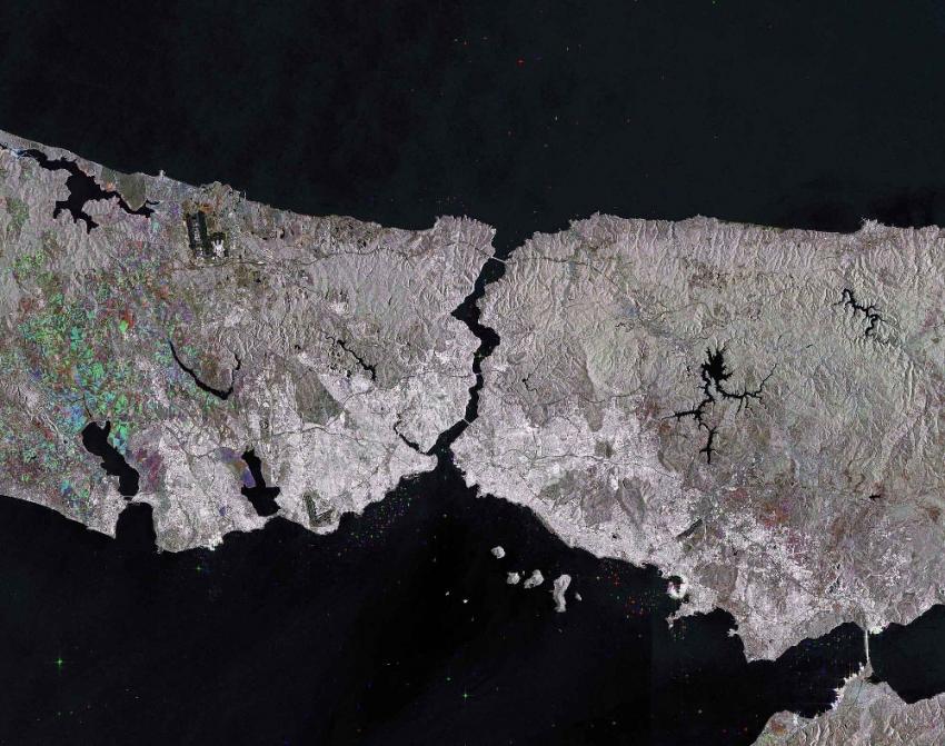 Avrupa Uzay Ajansı İstanbul Boğazı'nı görüntüledi