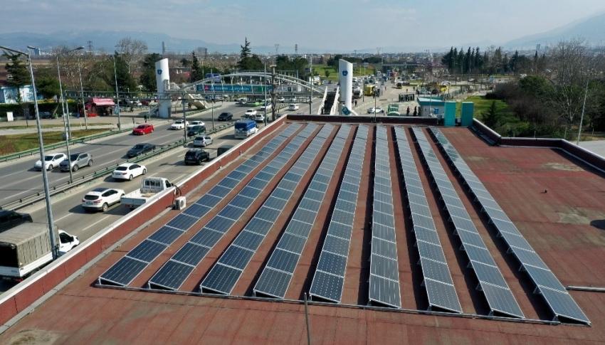 Bursa'da güneşle 17 milyon TL tasarruf sağlanacak