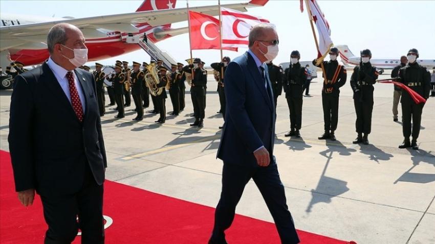 Erdoğan'dan bir Kıbrıs açıklaması daha