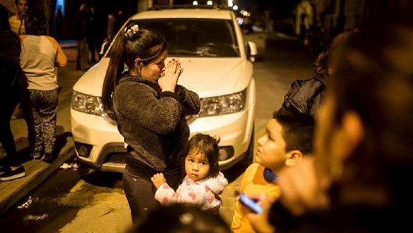 Şili'de 8,3 büyüklüğünde deprem