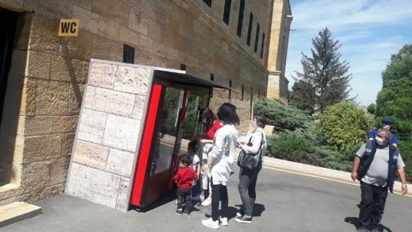 Anıtkabir'deki otomatlar kaldırılıyor