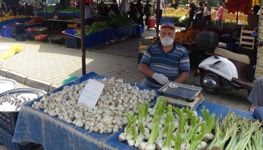 Bursa'da sarımsağın kilosu dudak uçuklatıyor!