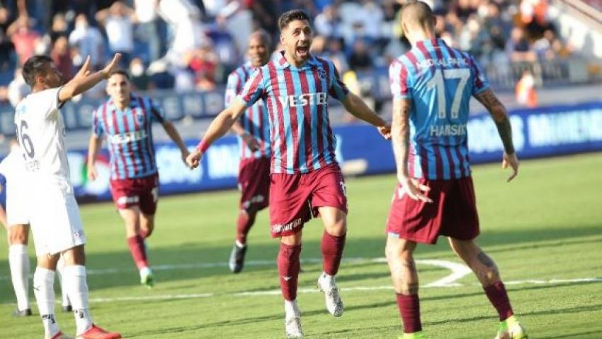 Trabzon üç puanı tek golle aldı