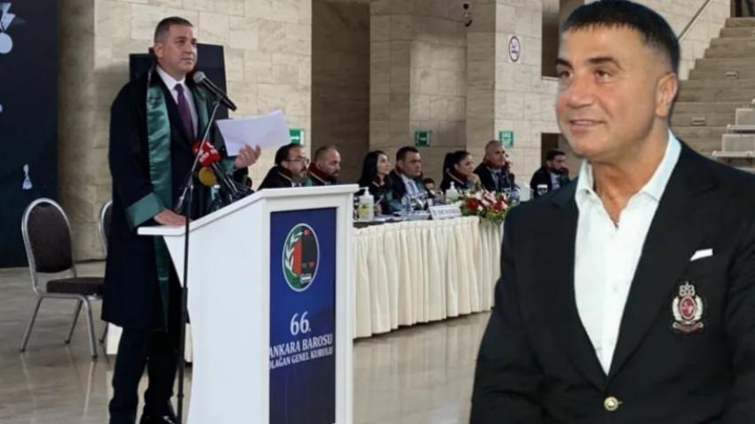 Baro seçimlerinde Sedat Peker'e oy çıktı