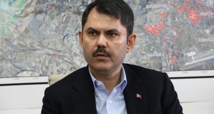 Bakan Kurum: '64 bin konutun kurasını çekeceğiz'