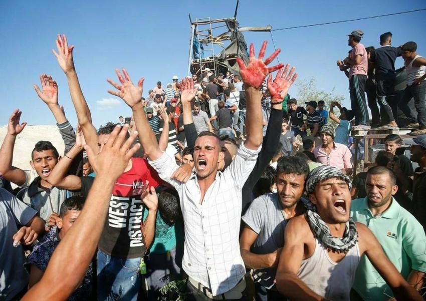 İsrail Gazze sınırına saldırı düzenledi: 3 ölü