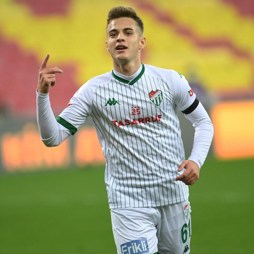 Bursaspor'un en golcü ismi Batuhan Kör
