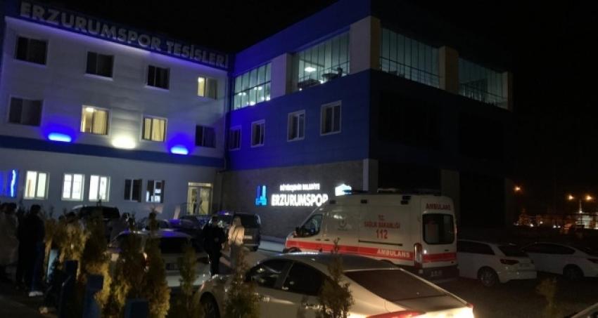 Erzurumspor'da korona şoku