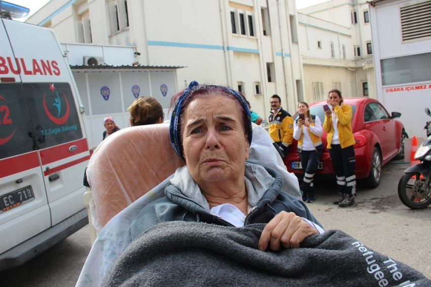 Fatma Girik Ankara'da hastaneye yatırıldı