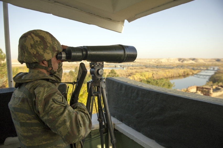 Suriye sınırı son teknoloji ile gözleniyor
