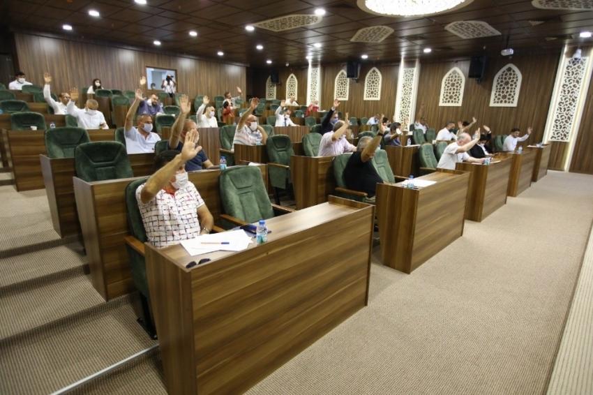 Yeni hizmet binasında ilk meclis toplantısı