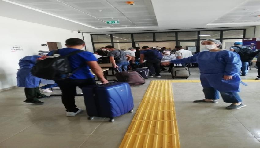 Maldivler'den gelen Türk vatandaşlarının karantina süresi doldu