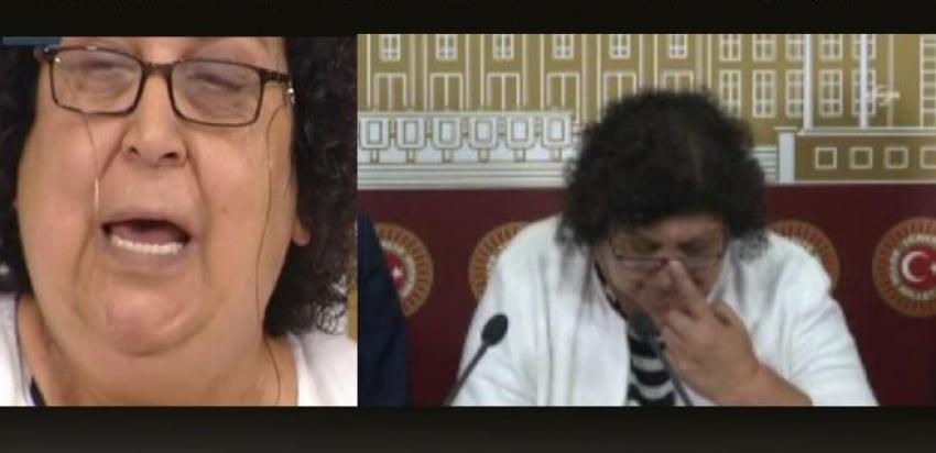 CHP'li vekil gözyaşlarına boğuldu