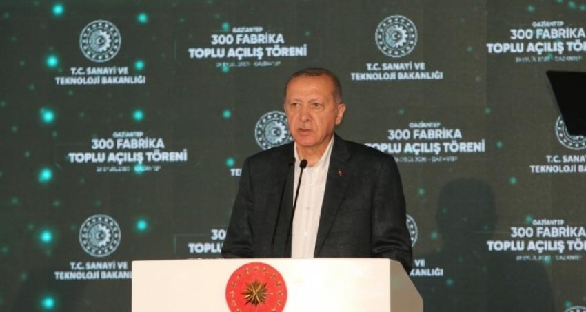 Cumhurbaşkanı Erdoğan'dan özel sektör vurgusu