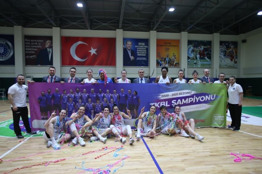 Şampiyonluk kupası Bursa'da havaya kalkacak
