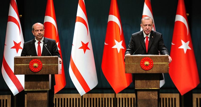 'Türkiye'nin Kıbrıs'ta adil ve kalıcı çözüm için iradesi bakidir'