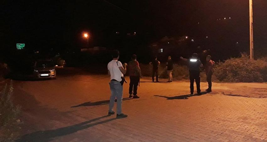 Jandarma uygulama noktasına silahlı saldırı: 1 asker yaralı