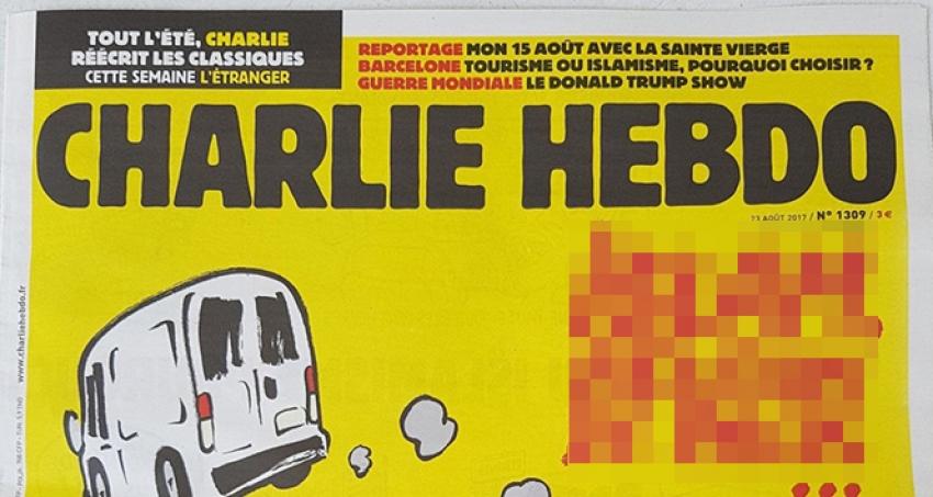 Fransız dergisinin yetkilileri hakkında suç duyurusu