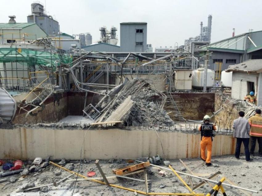 Kimya fabrikasında patlama: 6 ölü