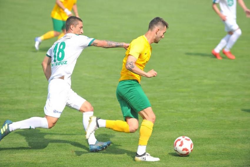 Yeşil Bursa AŞ-Erokspor: 0-1