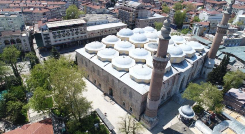 Bursa'da 74 günün ardından ilk Cuma namazı