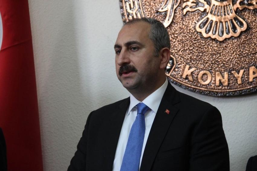 Adalet Bakanı Abdulhamit Gül'den başsağlığı mesajı